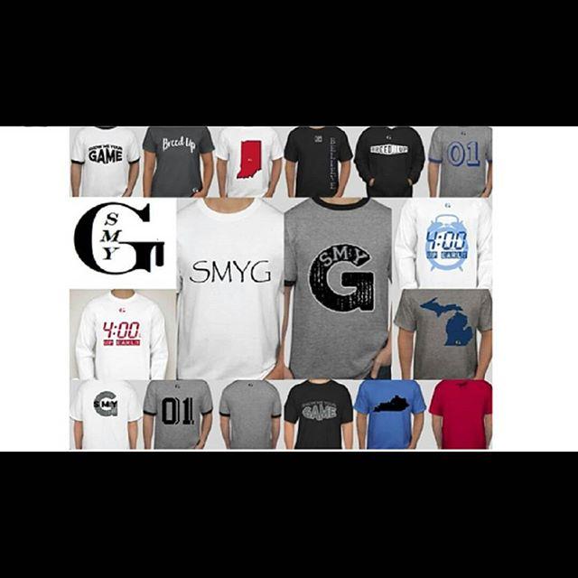 SMYG t-shirt selection
