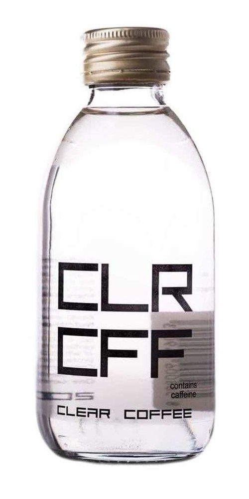 CLR CFF Clear Water On White Background