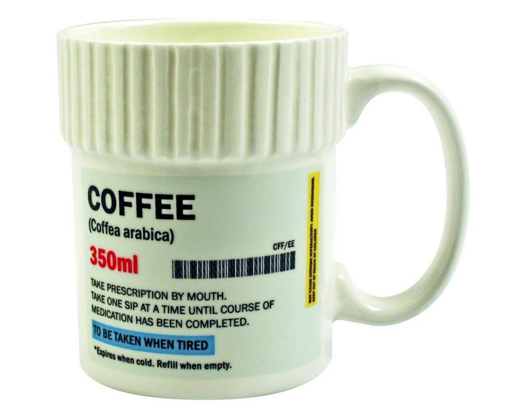 Coffee Caffeine Prescription Mug Cup