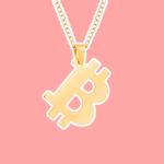 Bitcoin Gear Necklace Cover Photograph
