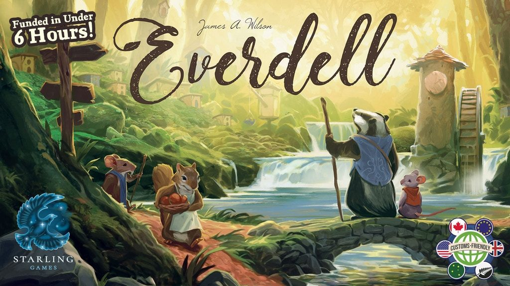 Everdell: A Beautiful Board Game of Cards and Critters