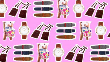 Fashion Kickstarter Header Image On Pink Background