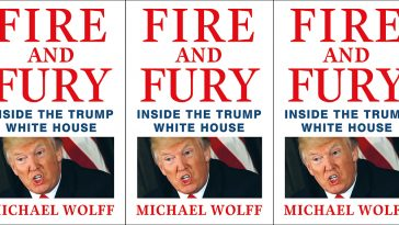 Fire and Fury Front Cover By Michael Wolff