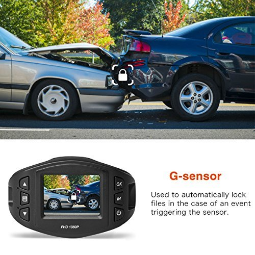 SuperEye Dash Cam Mini Car Camera 1080P Full HD Car Driving Recorder Dashboard Camera Car Video Recorder with Sony Sensor, 170 Wide Angle Lens, WDR, Loop Recording, Parking Monitor, and G-Sensor 5