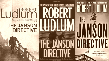 The Janson Directive By Robert Ludlum Book Cover Front Cover