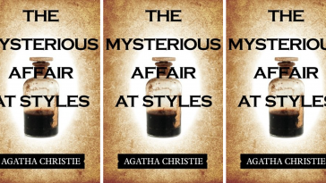 The Mysterious Affair at Styles By Agatha Christie Front Cover